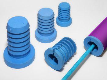Universal HDPE sealing plugs